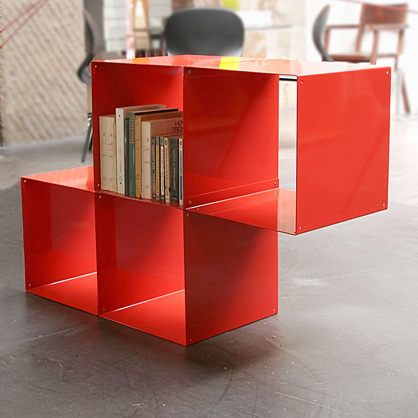 Biblioth ques design tag res modulables cubes de - Cube de rangement modulable ...